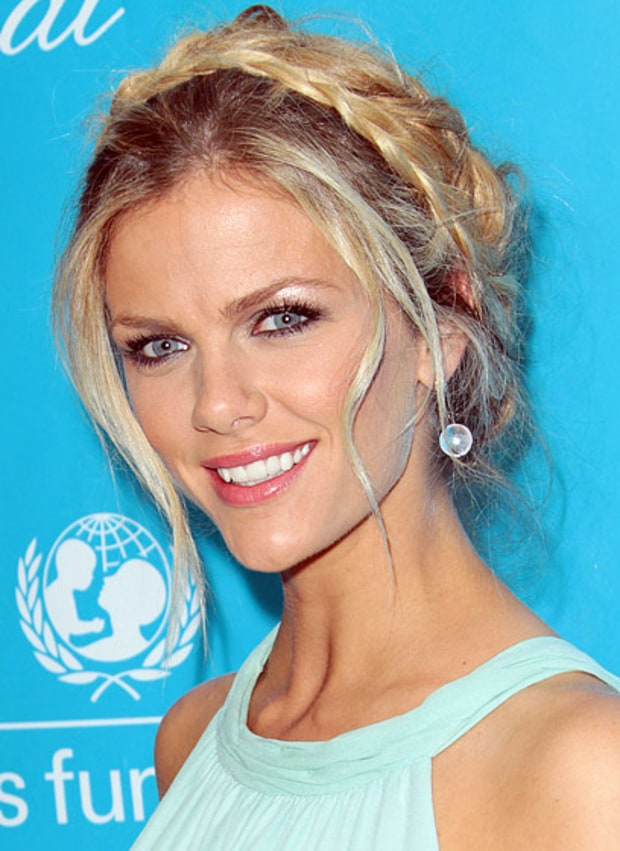 Brooklyn Decker's Braided Updo