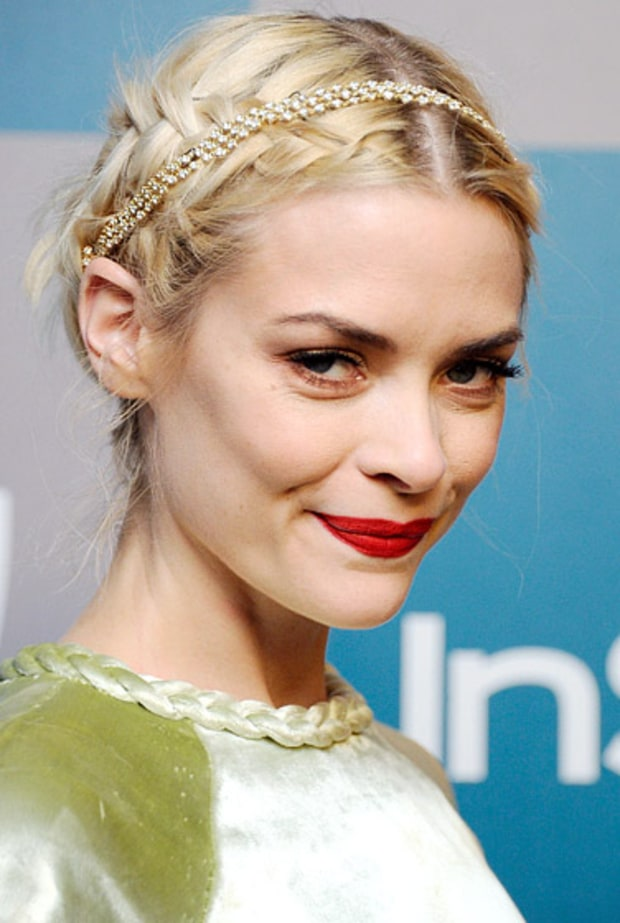 Jaime King' Braid and Headband