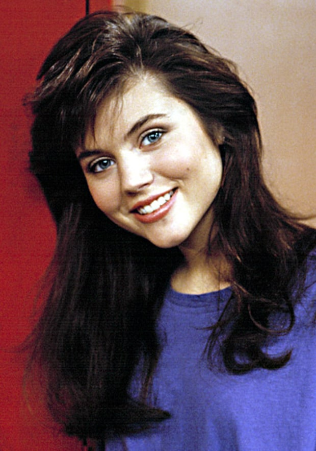 Tiffani-Amber Thiessen -- Then