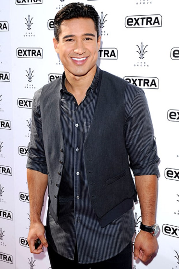 Mario Lopez -- Now