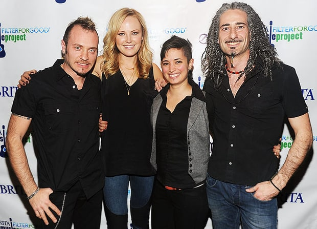 Malin Akerman and the Mystikats