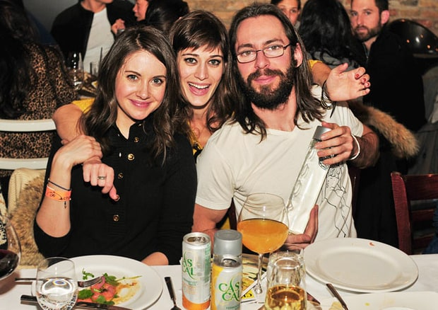 Alison Brie, Lizzy Caplan and Martin Starr