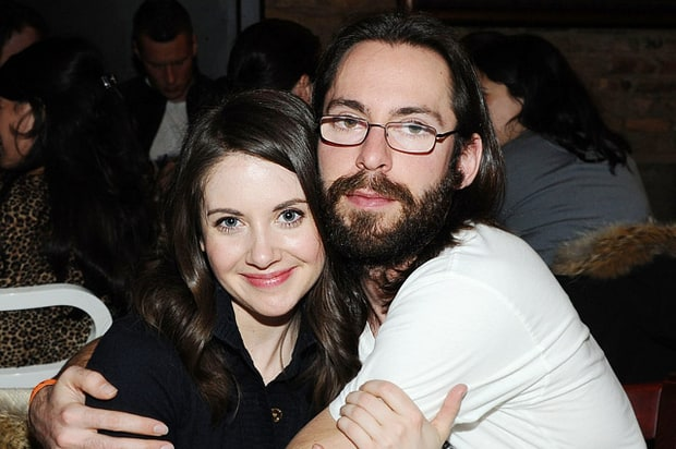 Alison Brie and Martin Starr