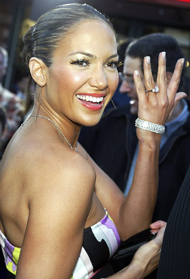 The Best Celebrity Engagement Rings - yahoo.com