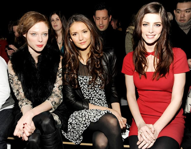 Coco Rocha, Nina Dobrev and Ashley Greene