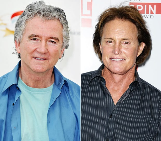 Patrick Duffy and Bruce Jenner