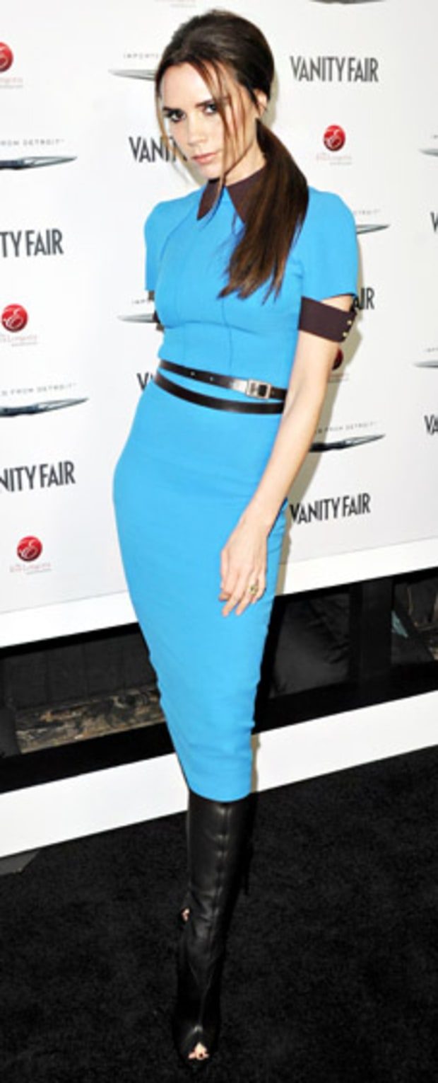 Victoria Beckham at Vanity Fair and Chrysler Celebration