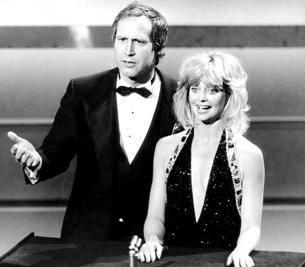 Chevy Chase Insults Hollywood, 1987