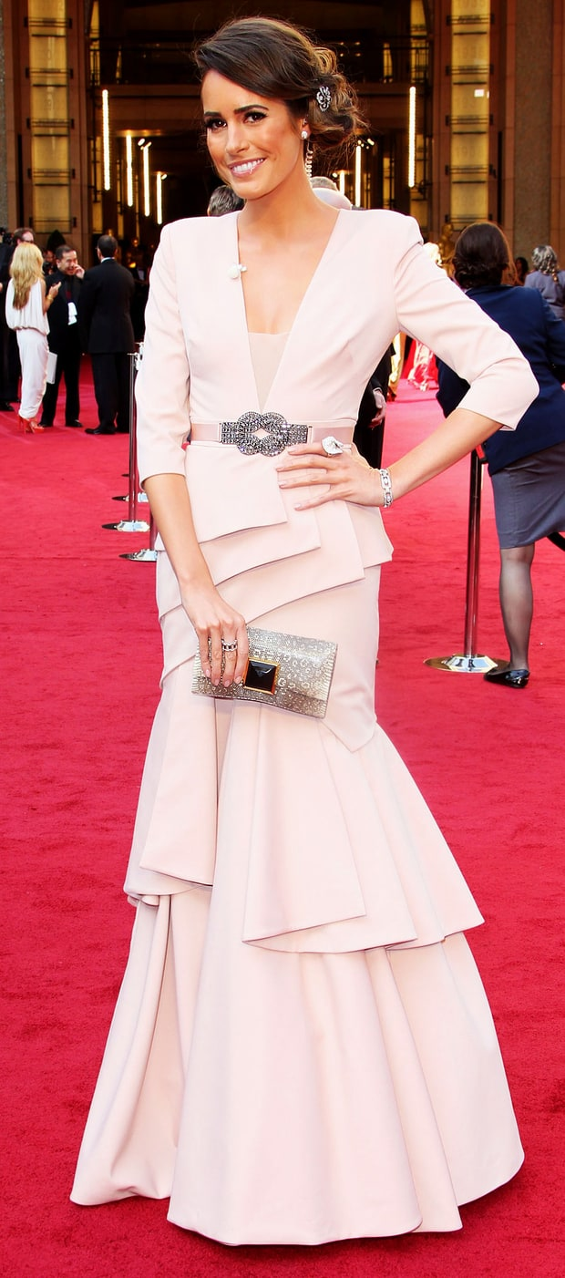 Louise Roe at the 84th Annual Academy Awards