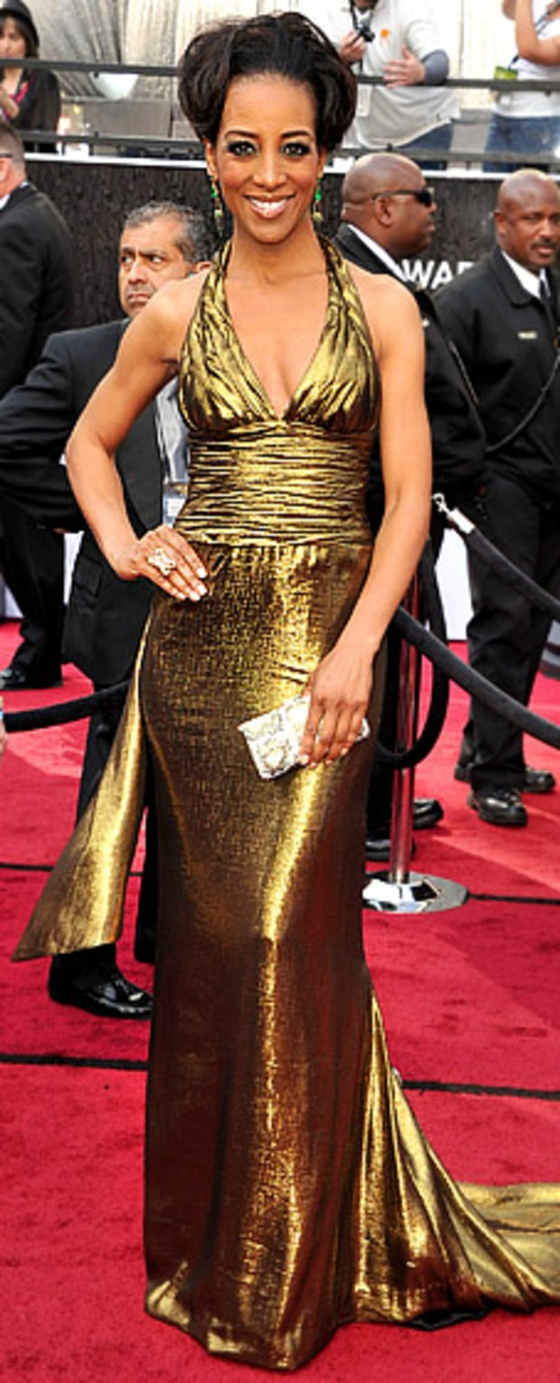 Shaun Robinson at the 84th Annual Academy Awards