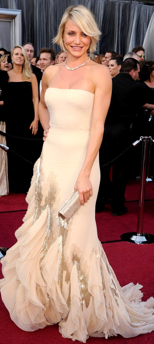 Cameron Diaz at the 84th Annual Academy Awards