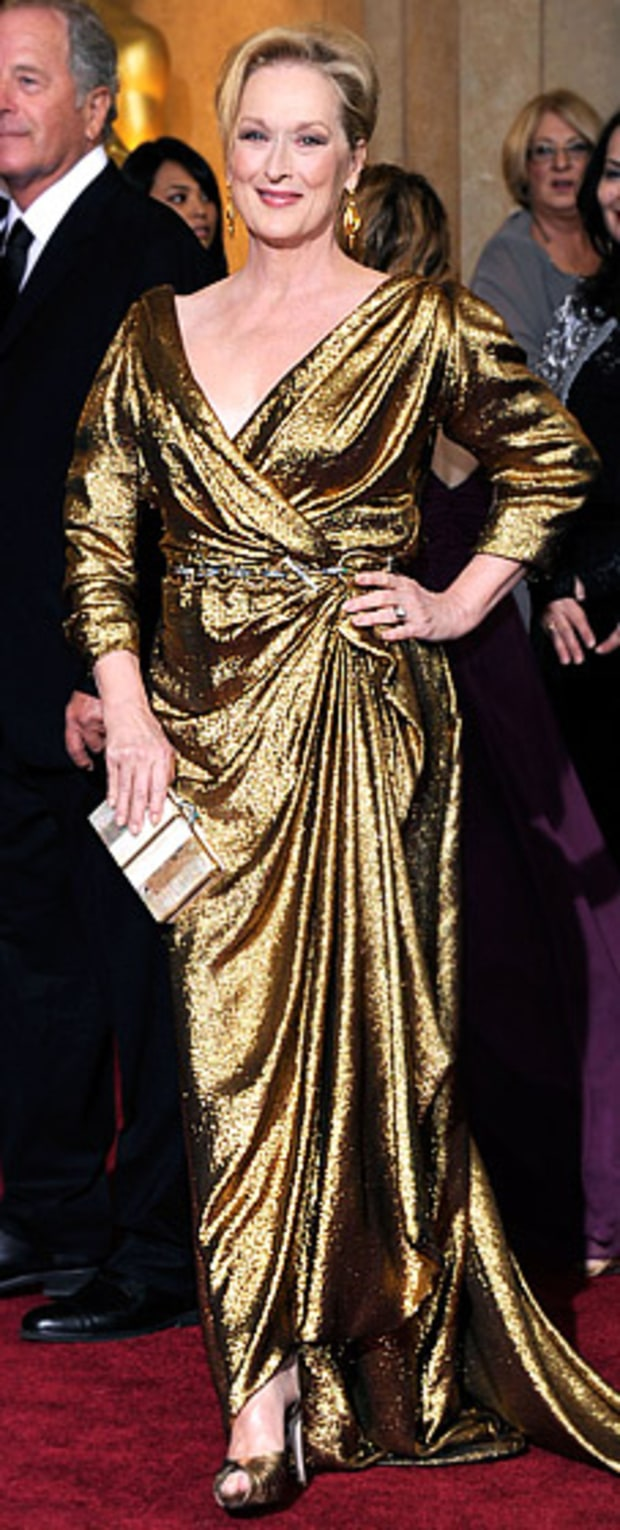Meryl Streep at the 84th Annual Academy Awards
