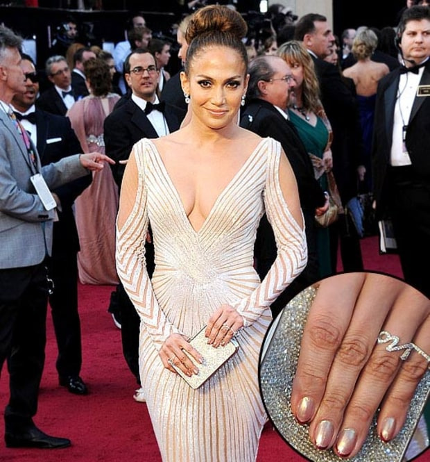 Jennifer Lopez at Oscars