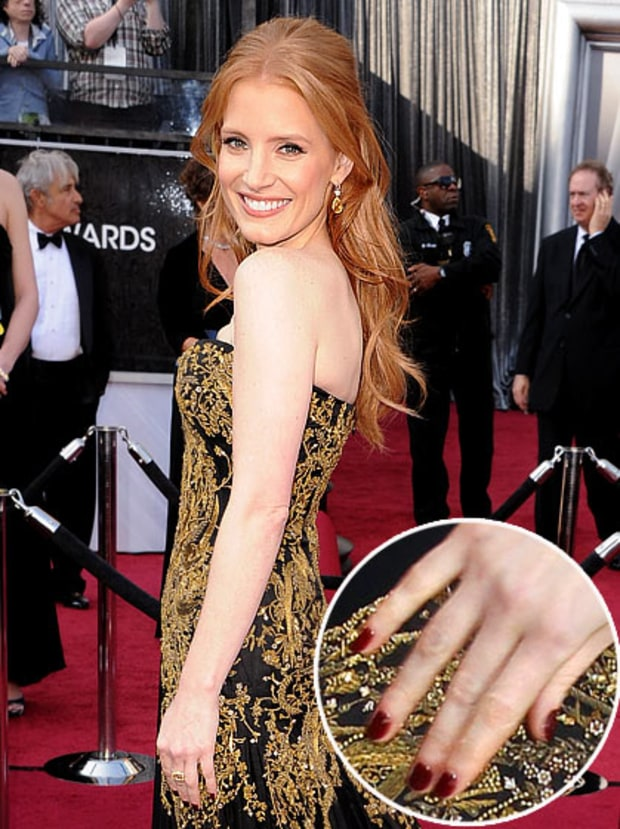 Jessica Chastain at Oscars