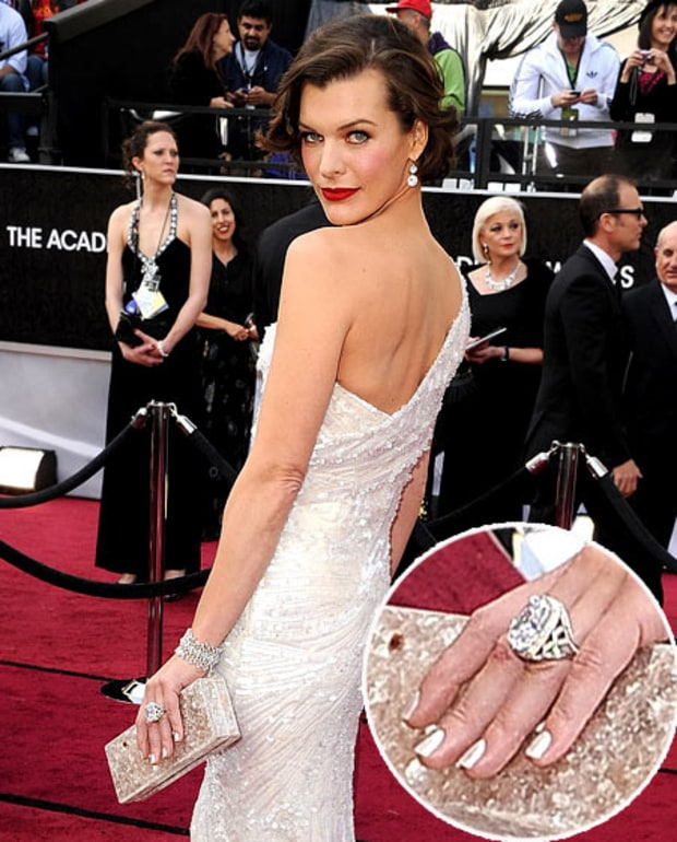 Milla Jovovich at Oscars