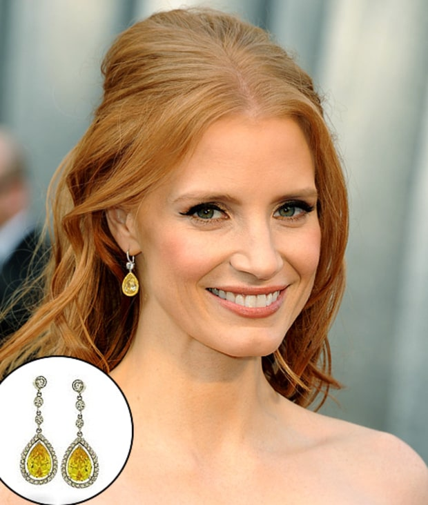 Jessica Chastain's Earrings