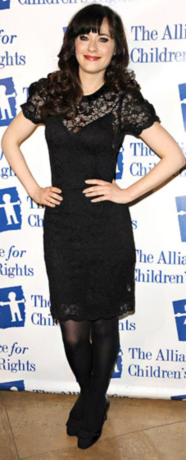 Zooey Deschanel: Alliance for Children's Rights
