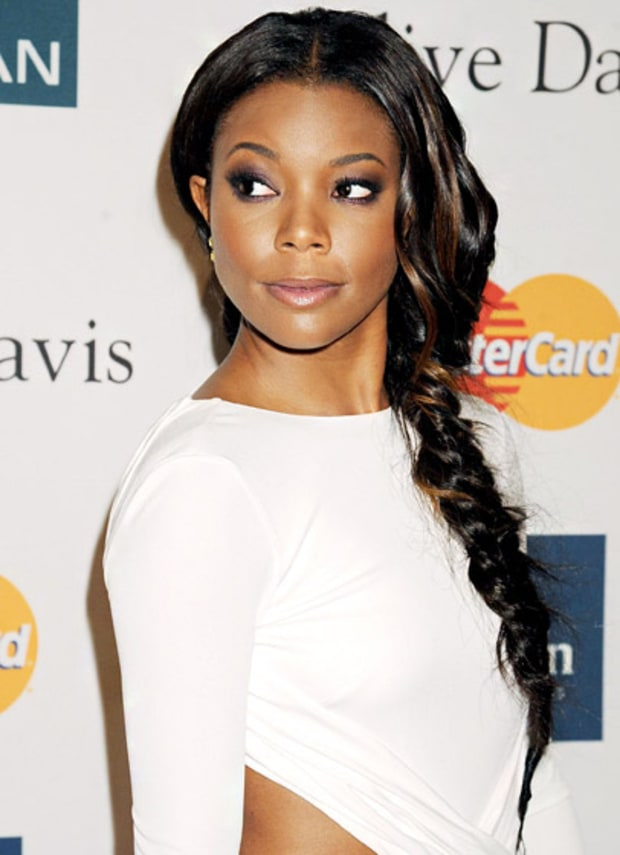 Gabrielle Union's Side Braid