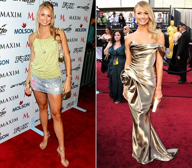 Best Red Carpet Transformation: Stacy Keibler