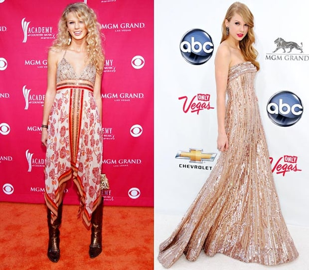 Best 5-Year Improvement: Taylor Swift