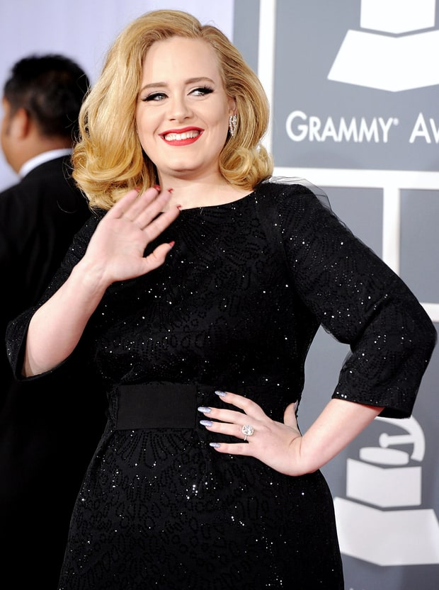 Do the Adele Nail Flip