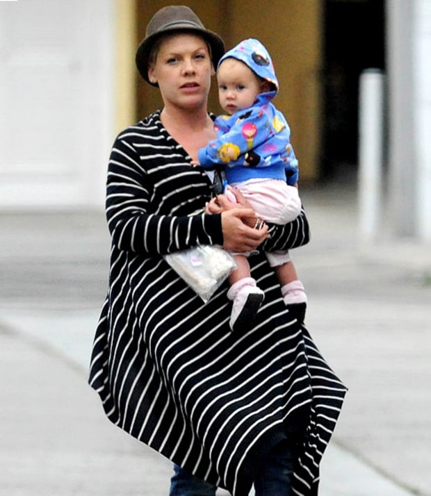 Pink's Perfect Baby