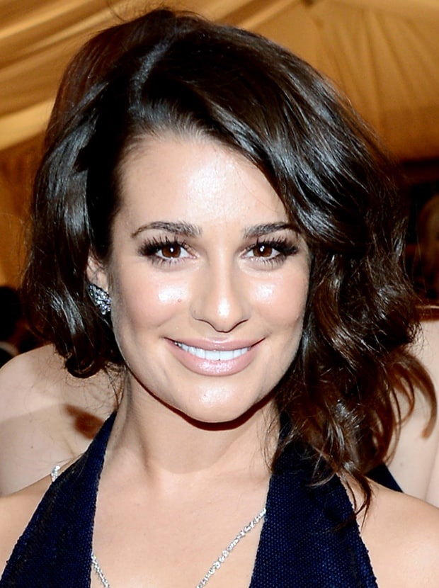 Best Eyelashes: Lea Michele