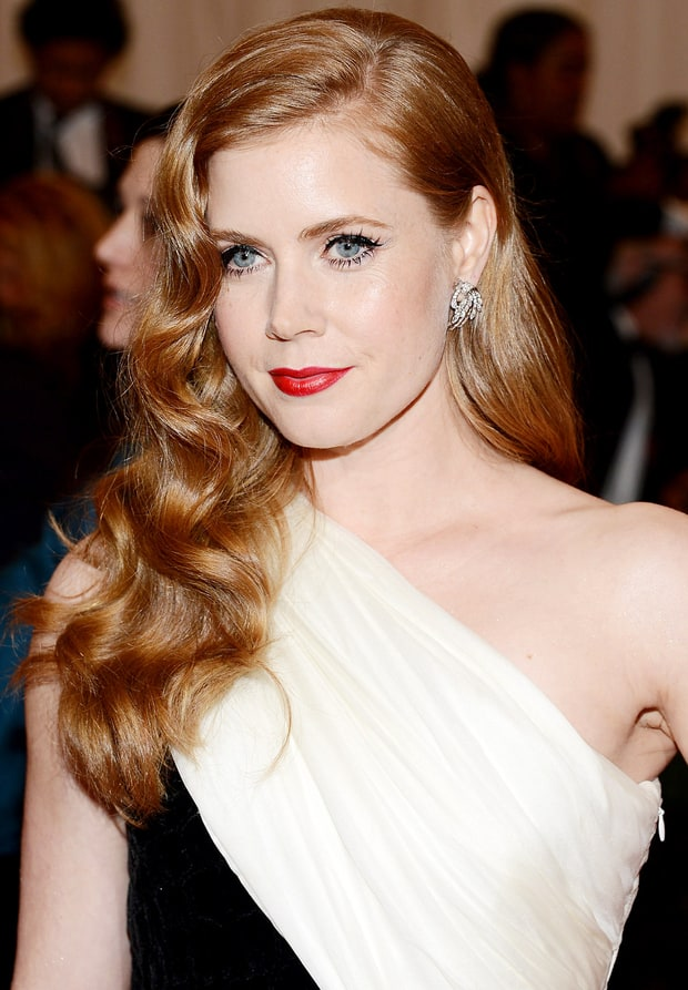 Best Eye-Lip Combo: Amy Adams