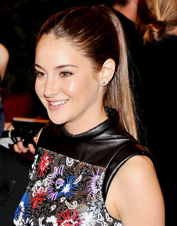 Best Polished Ponytail: Shailene Woodley