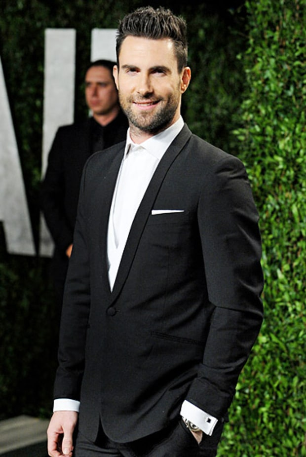 Inspiration: Adam Levine's Dark and Handsome Allure
