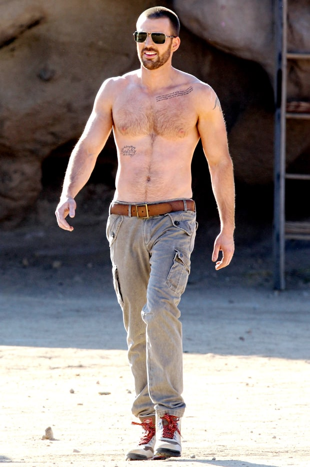 Chris Evans | Sexy Shi...