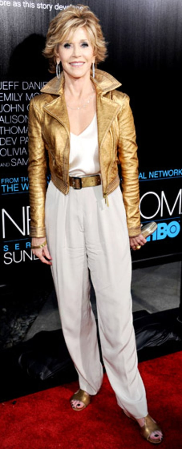 Jane Fonda: The Newsroom Premiere