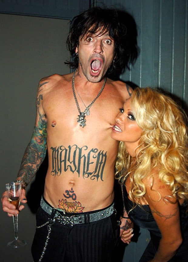 Tommy Lee and Pam Anderson