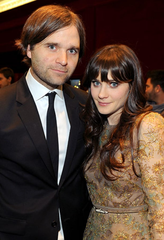 Ben Gibbard and Zooey Deschanel