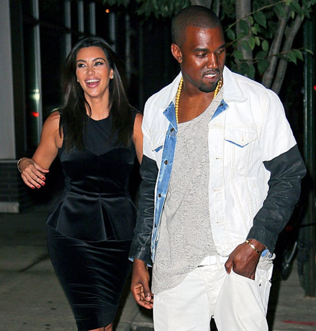 Kimye on Broadway!