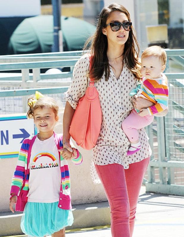 June 27 2012 jessica alba s daughter haven garner warren turns 1