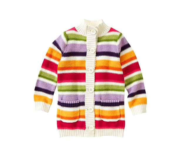 Gymboree Stripe Sweater Cardigan