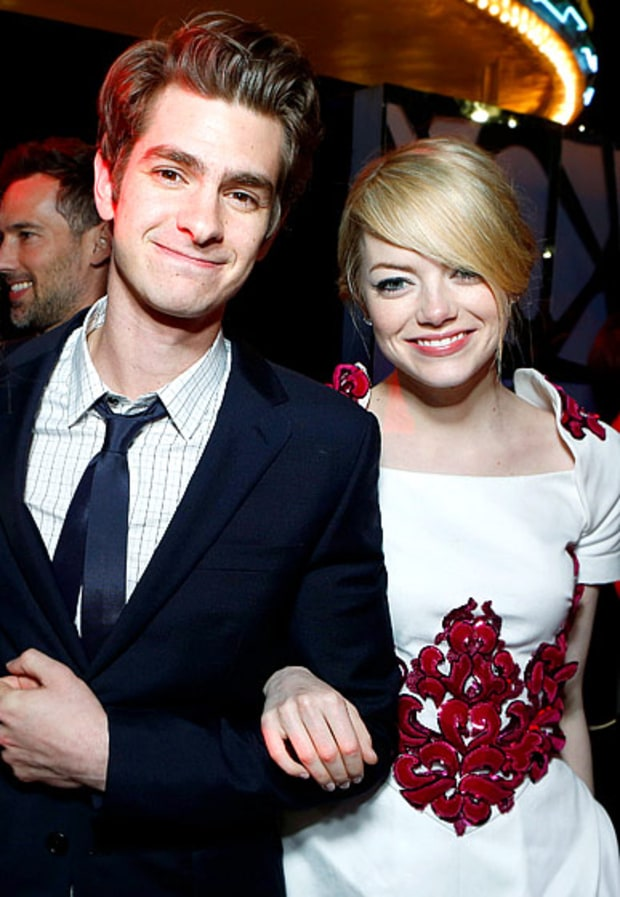 Red Carpet Sweethearts | Emma Stone and Andrew Garfield's ...