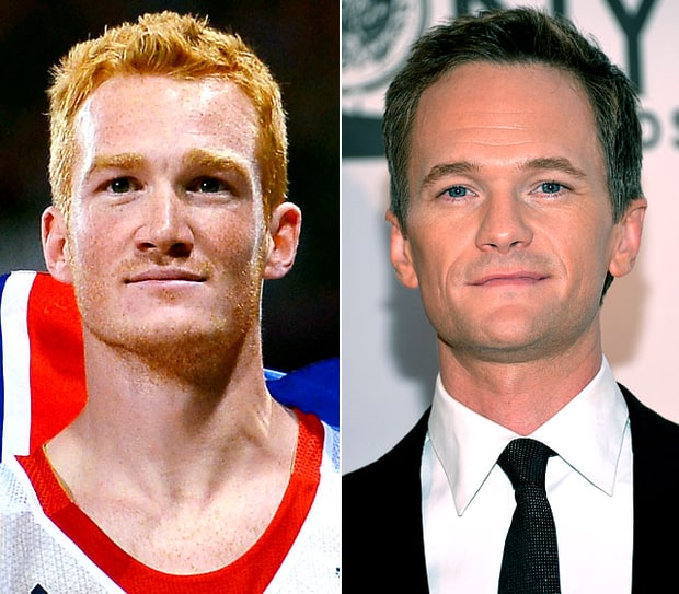 Greg Rutherford and Neil Patrick Harris