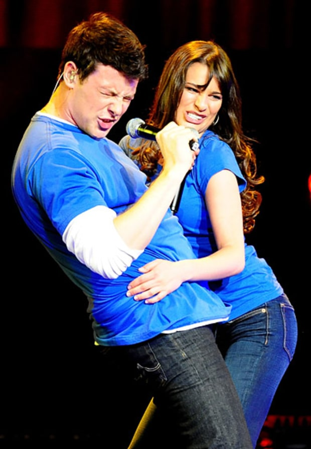 Lea michele and cory monteith dating 2009