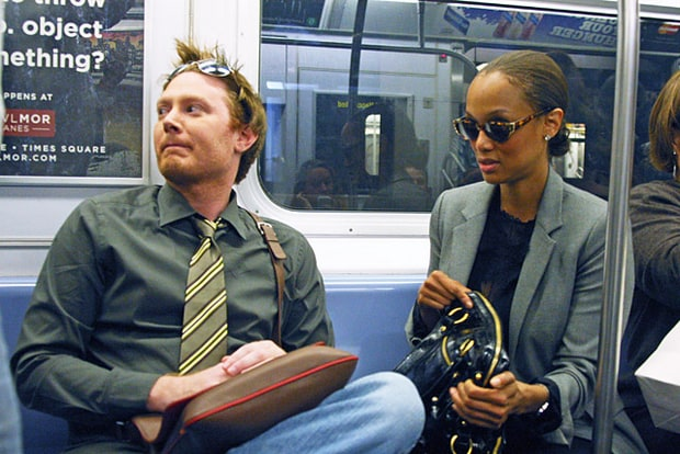 Clay Aiken and Tyra Banks