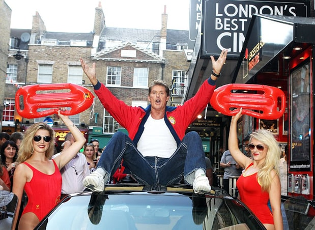 The Hoff Takes London