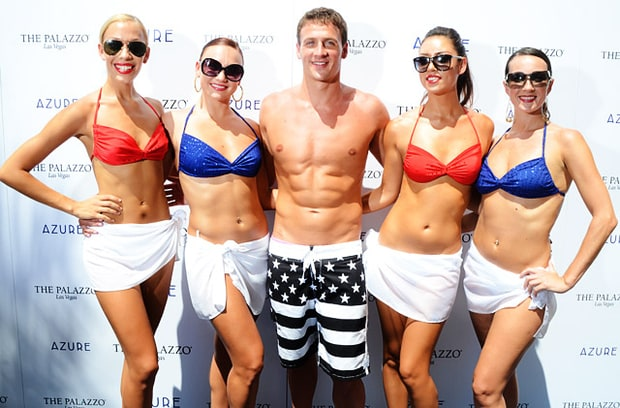 Lochte's Lovely Ladies!