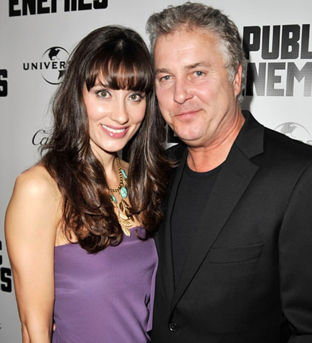 William Petersen and Gina Cirone