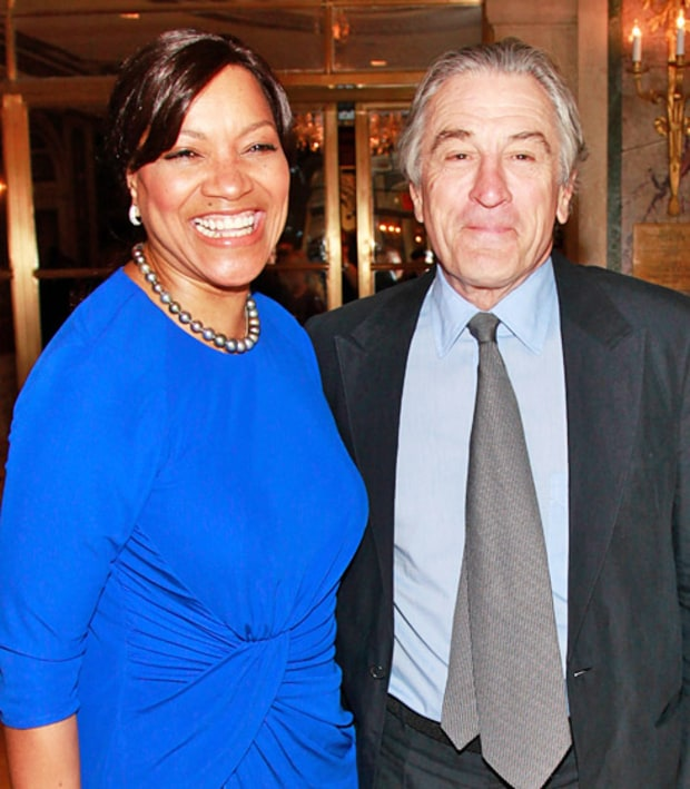 Robert De Niro and Grace Hightower De Niro