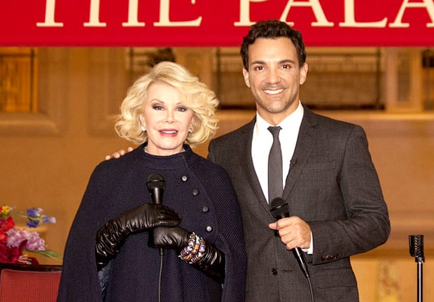 Joan Rivers and George Kotsiopoulos