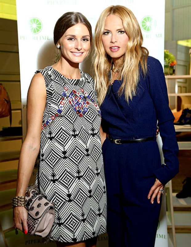 Olivia Palermo and Rachel Zoe