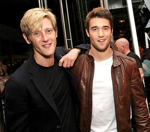 Gabriel Mann and Josh Bowman