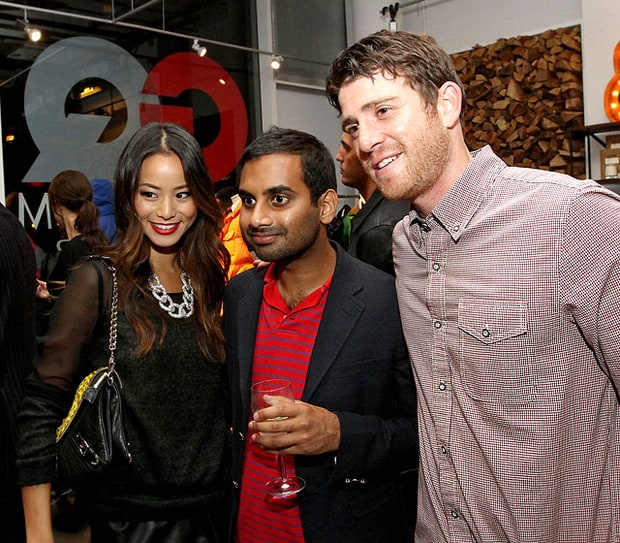 Jamie Chung, Aziz Ansari and Bryan Greenberg