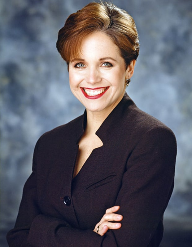 Circa 1996 | Katie Couric's Hair Evolution | Us Weekly